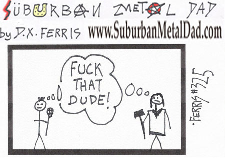 Suburban Metal Dad 325 When Polo Jesus Met Lacrosse Mohawk