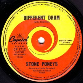 "The Stone Poneys, ""Different Drum"""