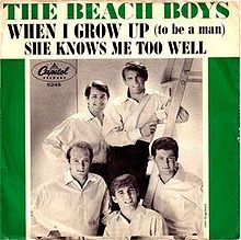 "The Beach Boys, ""When I Grow (To Be a Man)"""