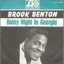 "Brook Benton, ""Rainy Night In Georgia"""