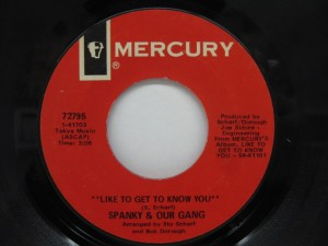 "Spanky & Our Gang, ""Like to Get to Know You"""