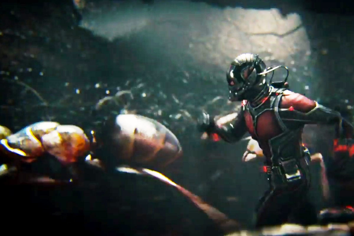 'Ant-Man' stars ants, and Paul Rudd.