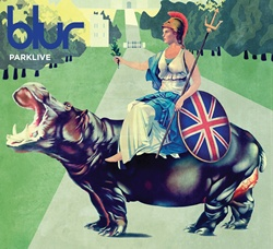 Blur - ParkLive - CD cover art