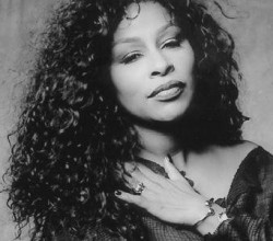 Soul and funk superstar Chaka Khan