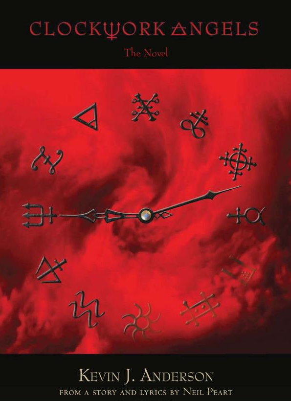 Clockwork Angels The Novel Cover