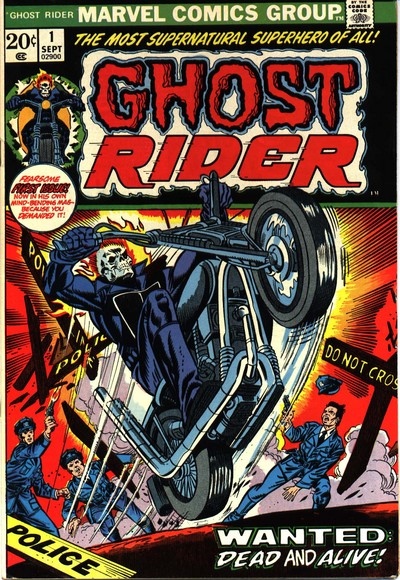 Book Cover Art Generator : Ghost rider creator s rights and bill mantlo