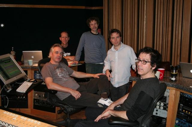 From left: Harding, Patrick Berkery, Eddie Carlson, Dave Nagler, Chris von Sneidern