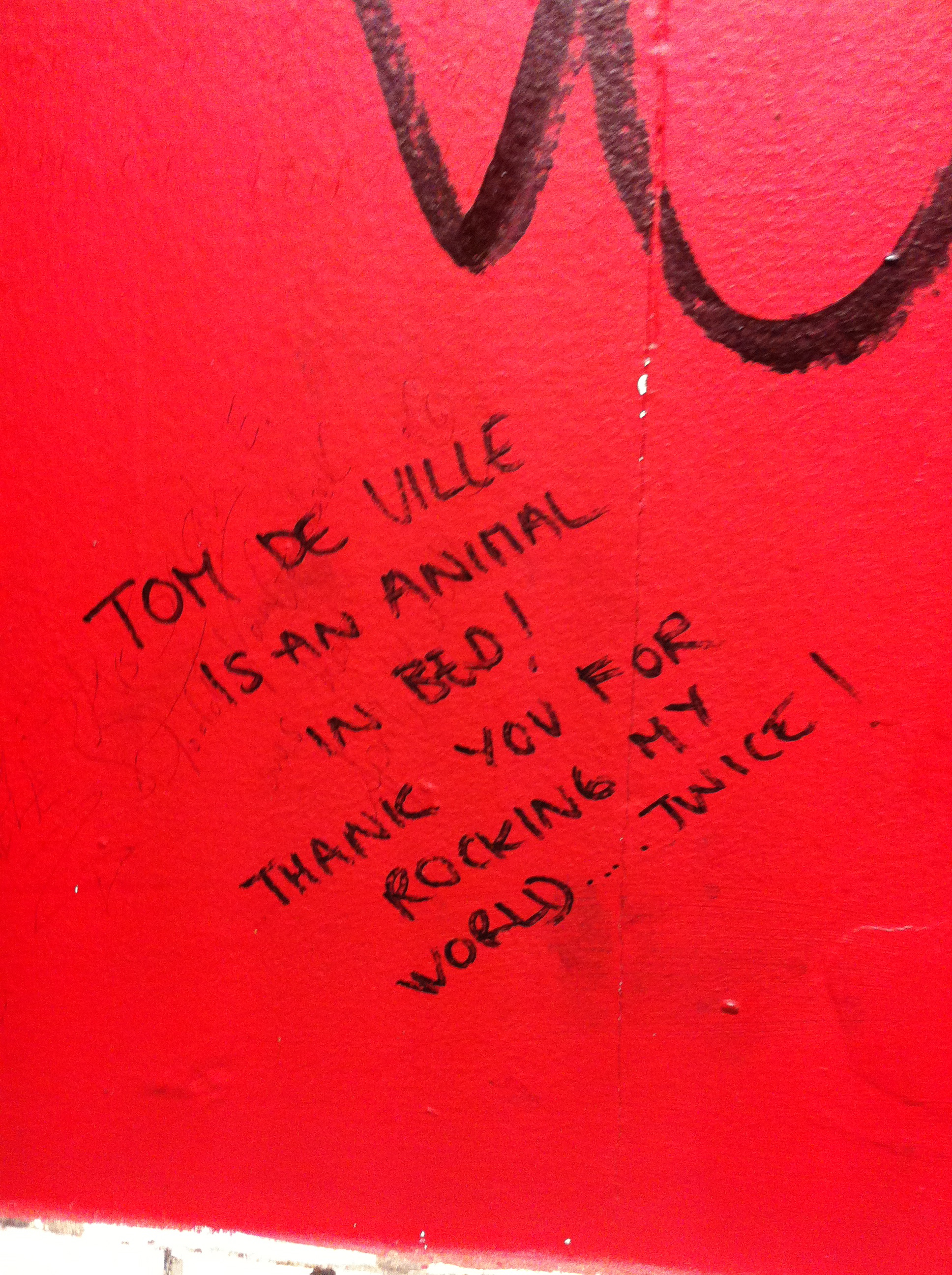 London Bathroom Graffiti - Song for the Soundtrack of Your Date