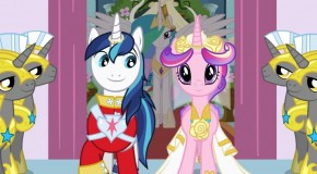DVD Review: My Little Pony  Friendship is Magic: Royal Pony Wedding (Plus: Win a Copy!)