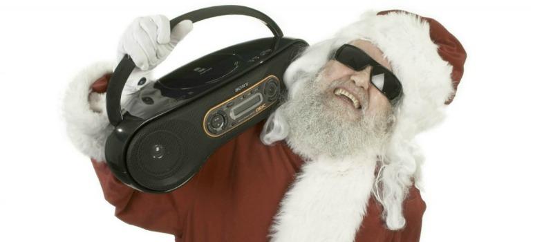 Rapping-Santa