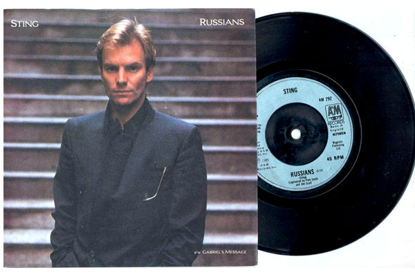 Sting Russian From The Album 20