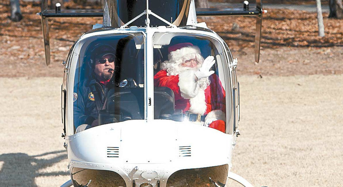 Santa Helicopter