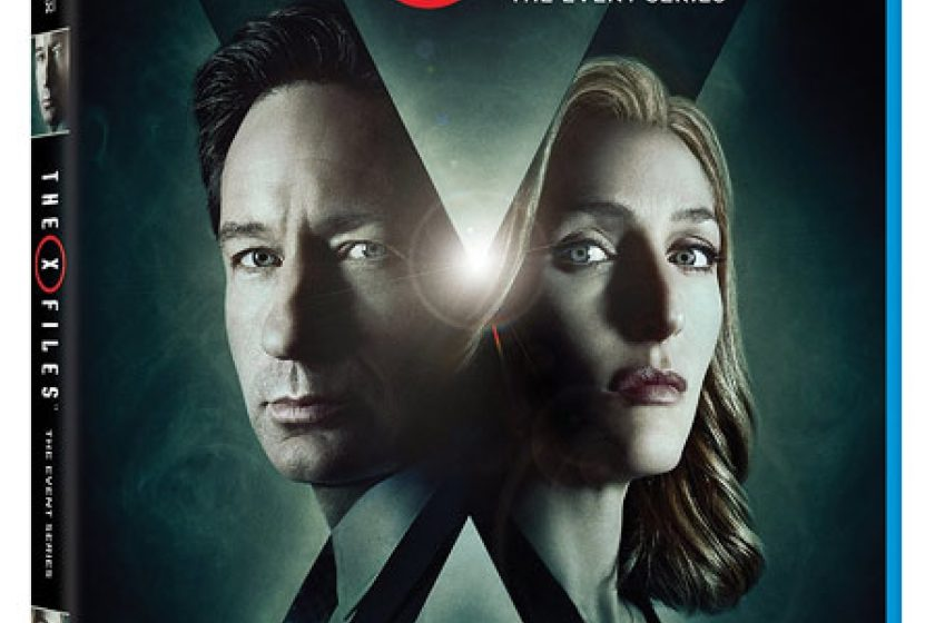 The X-Files Season 10 DVD Blu-ray Cover