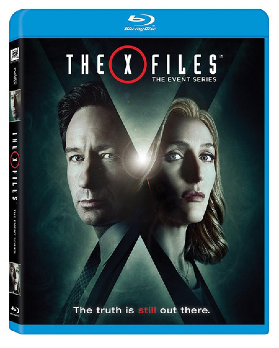 The X-Files Season 10 DVD Blu-ray Cover