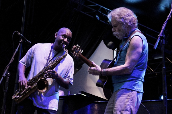 Bob Weir, Branford Marsalis and Bruce Hornsby