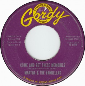 Martha & the Vandellas - Come and Get These Memories