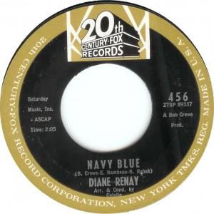 """Diane Renay, """"Navy Blue"""""""