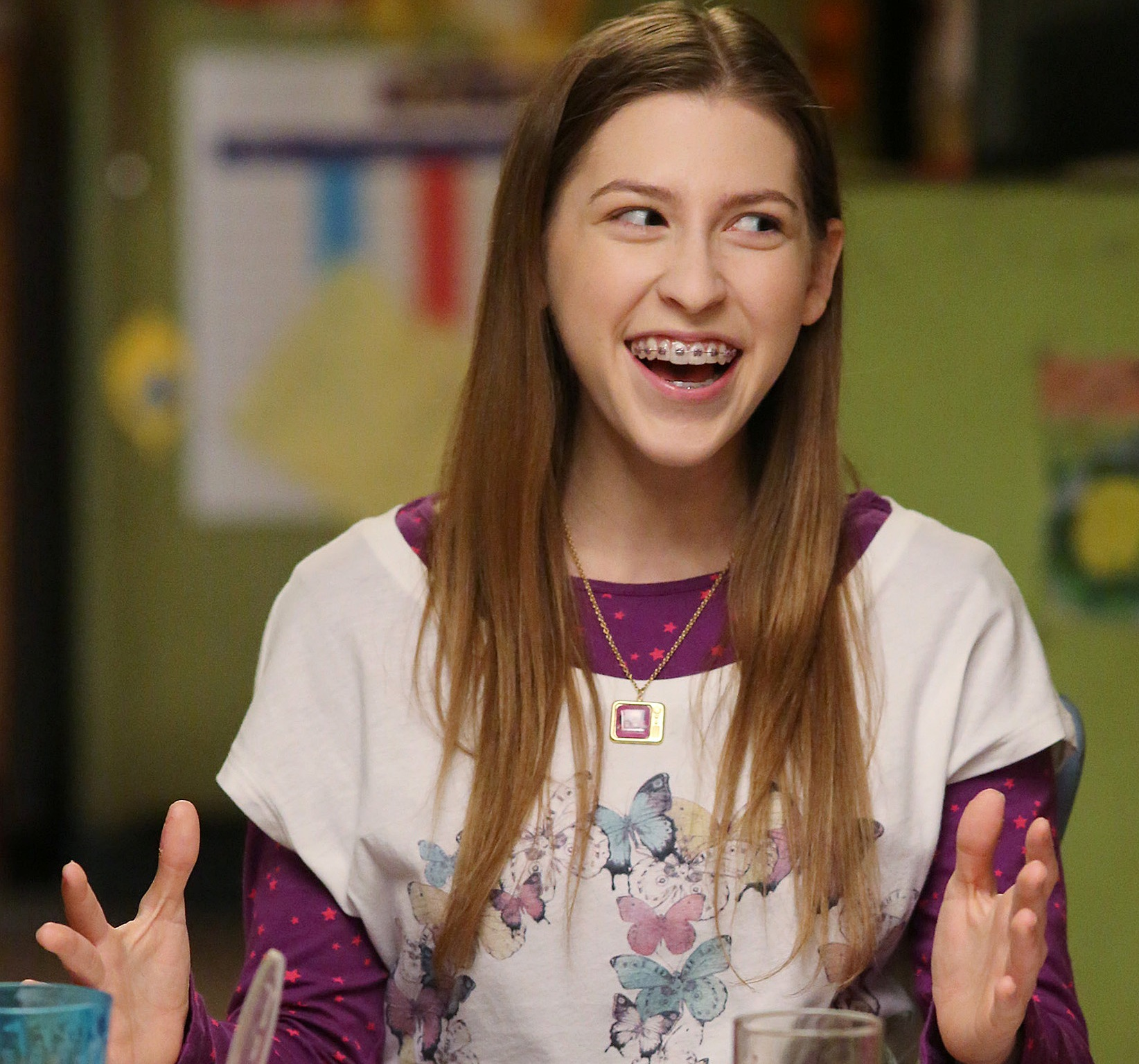 Eden Sher as Sue Heck.