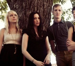 Eisley band group photo
