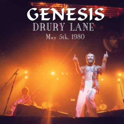 Genesis at Drury Lane, London - 1980