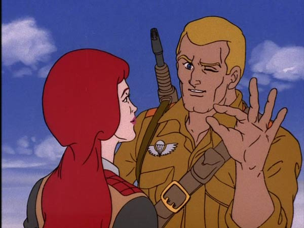 G I Joe Cartoon Characters : Popdose flashback the animated g i joe debuts