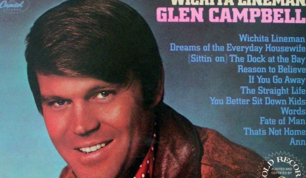 The hardest-workin' man in late 60s showbiz might have been Glen Campbell, who made 10 albums in a little more than two years. (EMI)