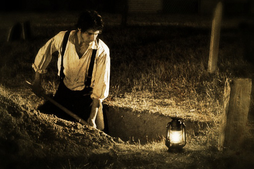 Digging A Grave Laying Am Gold To Rest And Thinking About Whats Next on This Was A Collaborative Project I Did With One