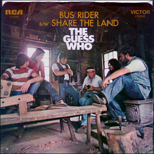"The Guess Who, ""Share the Land"""