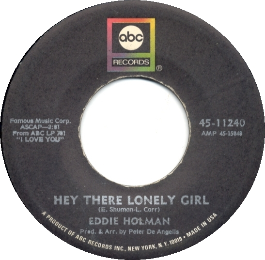 New Edition Lyrics - Hey There Lonely Girl