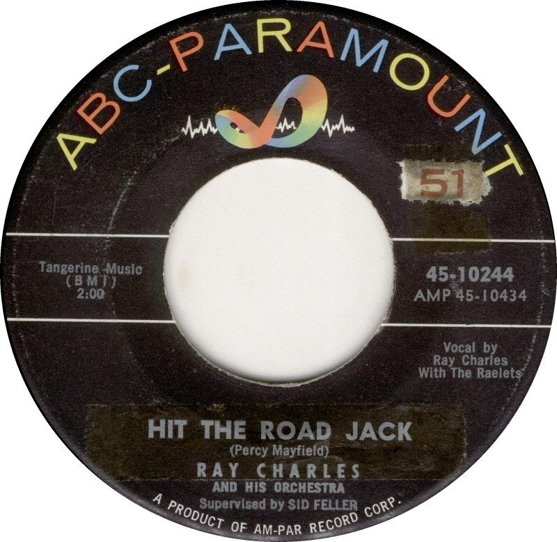 Soul serenade ray charles quot hit the road jack quot