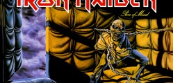 Iron Maiden, 'Piece of Mind' album cover gatefold