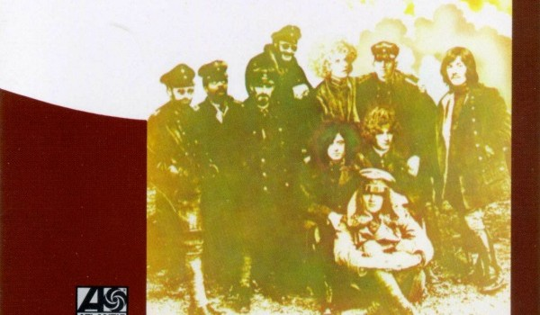 "Photos of the members of Led Zeppelin were added to a photo of a World War I German Air Force unit to create the cover of ""Led Zeppelin II."" (Atlantic Records)"