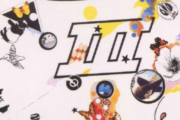 Detail from the cover of &quot;Led Zeppelin III.&quot; Cover artist Zacron died last fall.