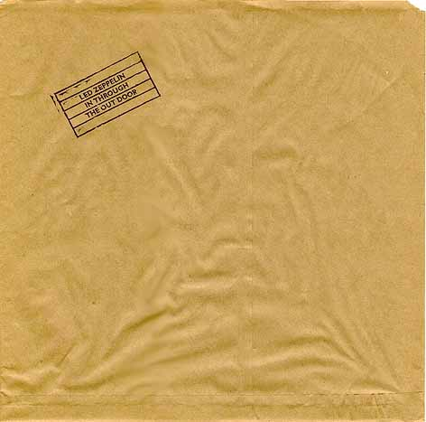 Led Zeppelin Paper Sleeve