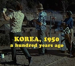 "The rarely seen title card that opens the first episode of ""M*A*S*H,"" seen 40 years ago tonight."