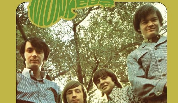 "Michael Nesmith, Peter Tork, Davy Jones, and Micky Dolenz, from the cover of ""More of the Monkees"""