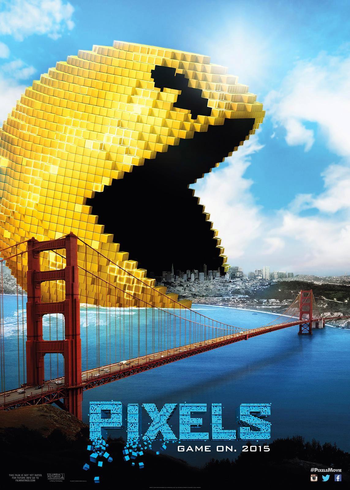 'Pixels' opens July 2015.