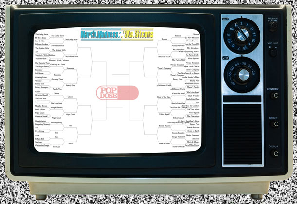 Popdose '80s Sitcom March Madness – Small Bracket, Sweet Sixteen