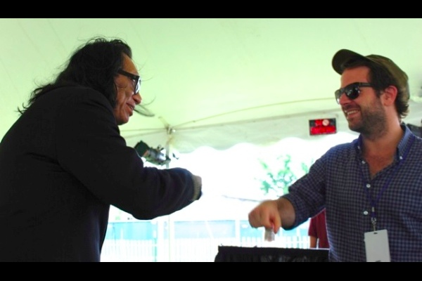 Rodriguez meets Taylor Goldsmith of Dawes