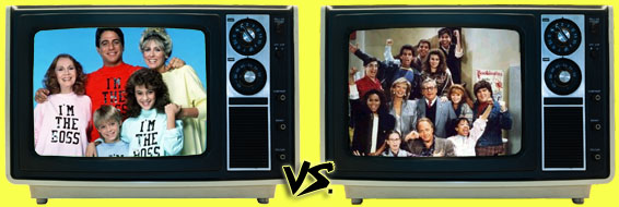 '80s Sitcom March Madness - (1) Who's the Boss? vs. (8) Head of the Class