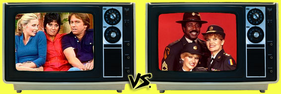 '80s Sitcom March Madness - (3) Three's Company vs. (6) Private Benjamin