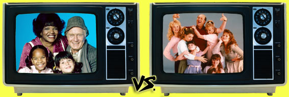 '80s Sitcom March Madness - Punky Brewster vs. Just the Ten of Us