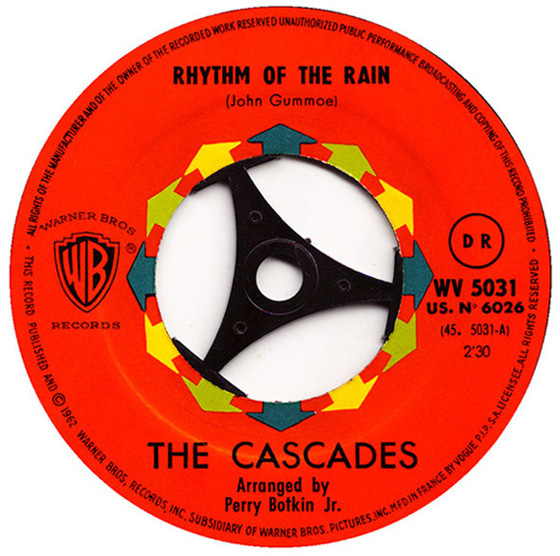 "The Cascades. ""Rhythm of the Rain"""