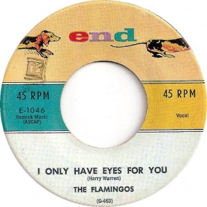 "The Flamingos, ""I Only Have Eyes for You"""