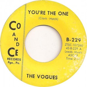 "The Vogues, ""You're the One"""