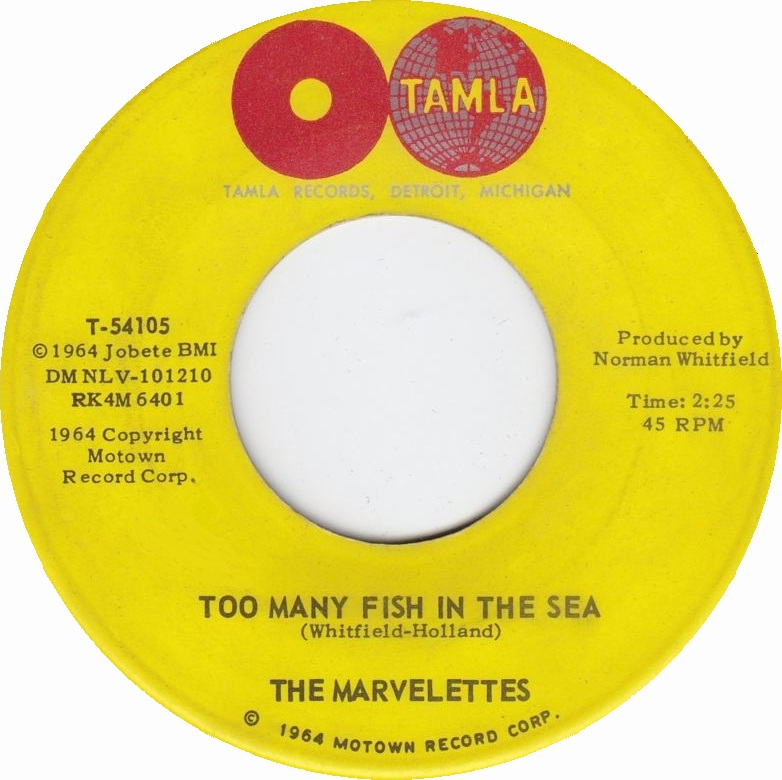 soul serenade the marvelettes too many fish in the sea