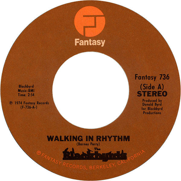 The Blackbyrds Walking In Rhythm The Baby