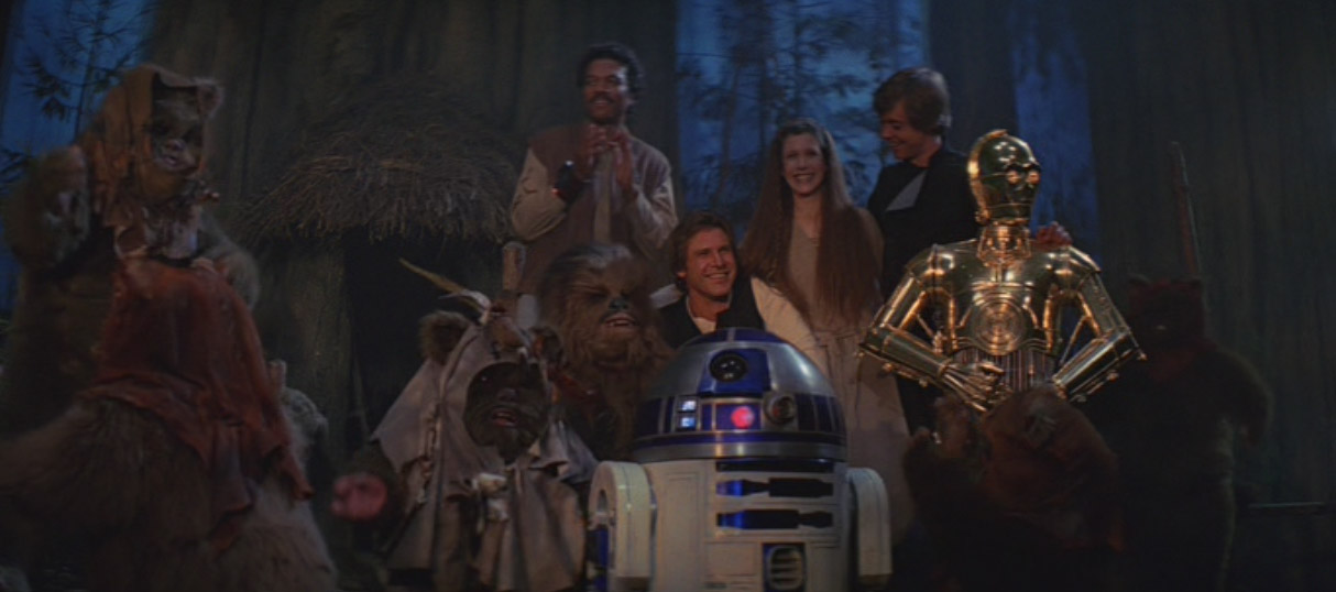 Return of the Jedi Final Shot | kesseljunkie